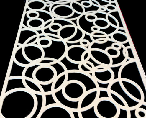 CNC routed MDF screen by Routers Australia, Perth