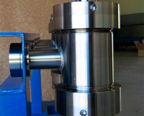 Assembled Stainless Steel 316 high pressure vessels CNC Machined by Routers Australia, Perth