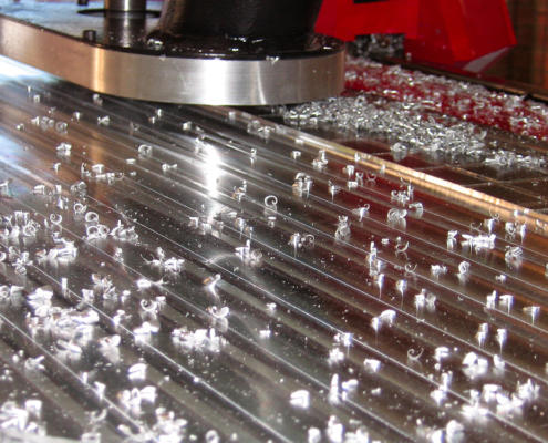 CNC machining Aluminium plate by Routers Australia, Perth