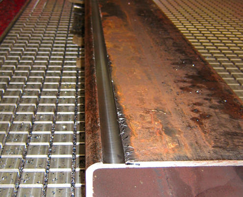CNC routing steel by Routers Australia, Perth