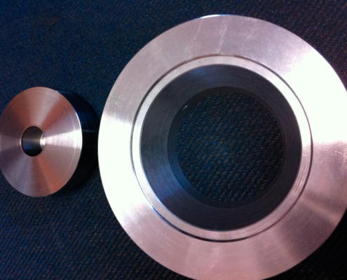 CNC machined special alloy steel precision valve. CNC machining by Routers Australia, Perth
