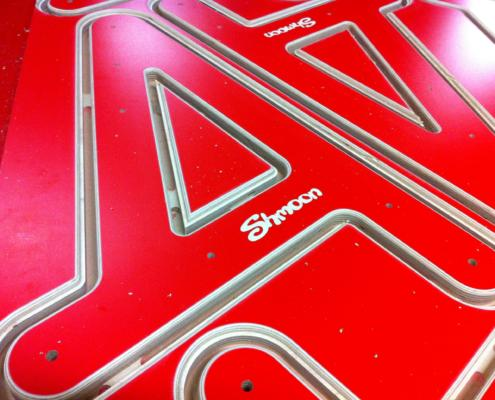 18mm MAXI Plywood components CNC routed by Routers Australia for Shmoon baby walkers.