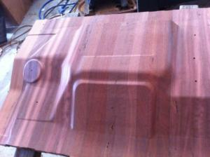 3D CNC ROUTING of Solid Hardwood